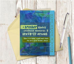 0104 Brother Note Card