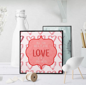 1155 All You Need Is Love V3 Art - deloresartcanada