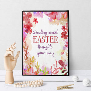 1168 Sending Sweet Easter Thoughts Your Way Art