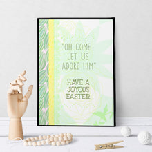 1175 Oh Come Let Us Adore Him Easter Art