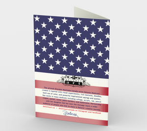 1366 Military Retirement Card by Deloresart