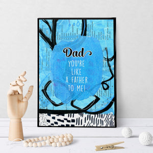 1244 Dad, You're Like A Father To Me Art