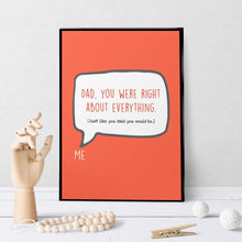 1259 Dad You Were Right Art - deloresartcanada