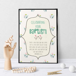 1290 One Lord, One Faith Baptism Art