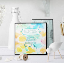 1292 Blessings Baptism Art - deloresartcanada