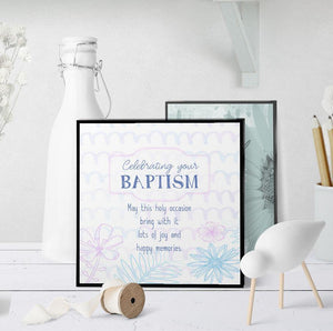 1295 Celebrating Your Baptism Art - deloresartcanada