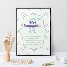 1301 First Communion God's Love Art