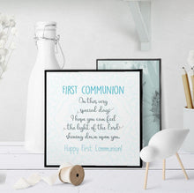 1302 First Communion Light Of The Lord Art