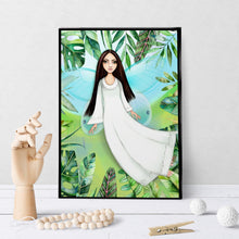 1324 Angel/Fairy Featuring Ethnic Girl Art