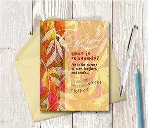 0132 Friendship Note Card