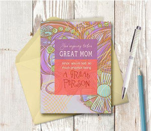 0133 Great Mom Note Card