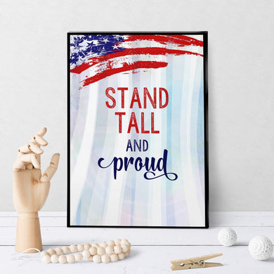 1367 Stand Tall And Proud V2 Art