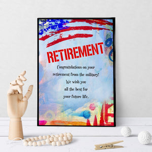 1368 Retirement From The Military Art
