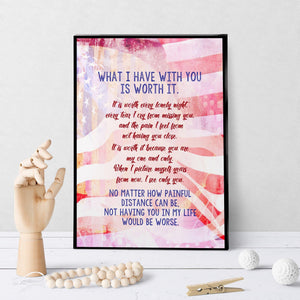1391 What I Have With You Art - deloresartcanada