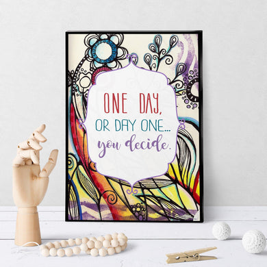 1398 One Day Or Day One Art