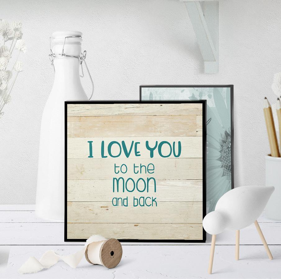 1400 Love You To The Moon And Back Art