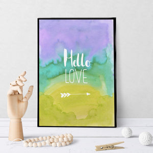 1413  Hello Love Art