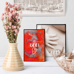 1416  You Are My Boo Art - deloresartcanada