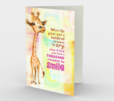 0204.A Thousand Reasons to Smile  Card by DeloresArt