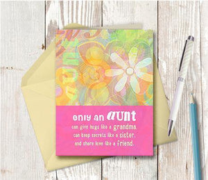 0148 Aunt Note Card
