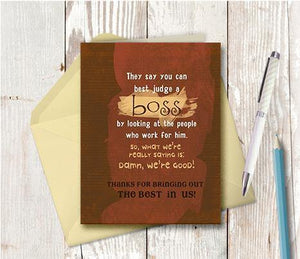 0179 Boss Note Card
