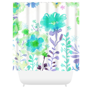 Grandma's Garden Shower Curtains