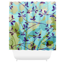 Fanciful Garden Shower Curtains