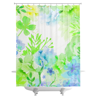 Nature's Bounty Shower Curtains