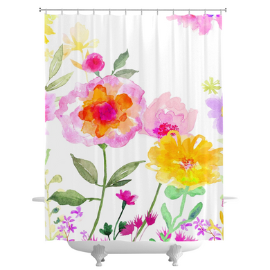 St. Mike's Garden Shower Curtains