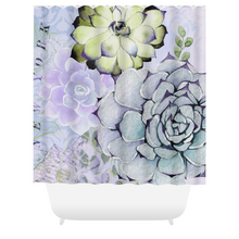 Pekinese Garden Shower Curtains