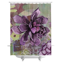 Adella Agave Shower Curtains