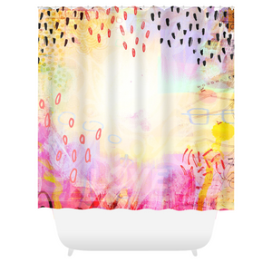 I Love Us Shower Curtains