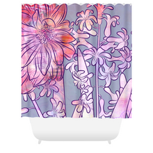 Hyacinth Heaven Shower Curtains