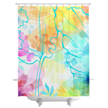 Rosie Cluster Shower Curtains