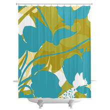 Sweet Pea Silhouette Shower Curtains