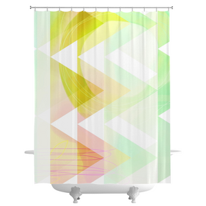 Obtuse Romance Shower Curtains