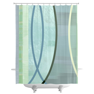 Coaxial Shower Curtains