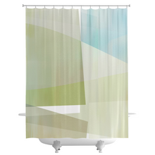 Angle iron Shower Curtains
