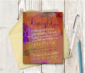 0187 Daughter Older Note Card