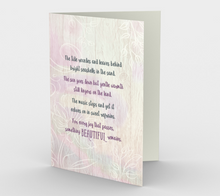 0620 The Tide Recedes Sympathy Card by Deloresart