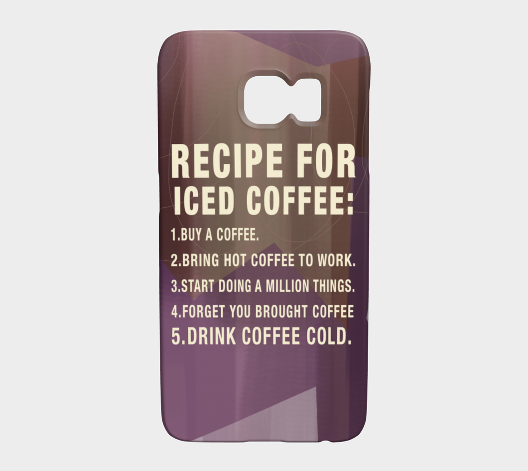 991  Cold Coffee Device Case