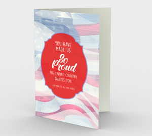 1380 You Have Made Us So Proud Card by Deloresart