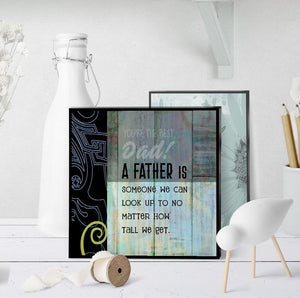 0200 Father Look Up To Art - deloresartcanada