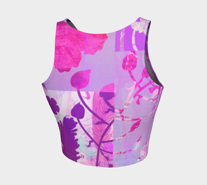 Boreal Forest Crop Top by Deloresart