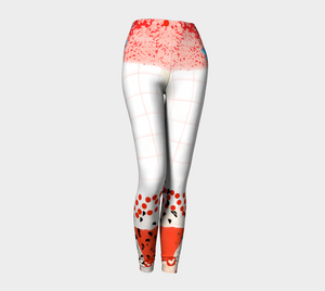 All You Need Is Love Leggings by Deloresart