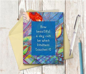 0221 How Beautiful A Day Can Be Note Card