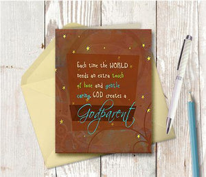 0238 Godparent Note Card