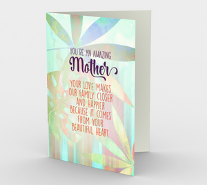 1143.You're An Amazing Mother  Card by DeloresArt