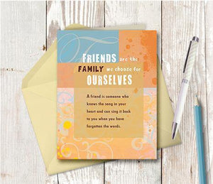 0246 Friends Family Note Card