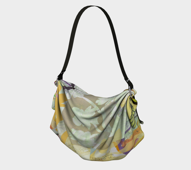 Tanglebrush Origami Tote by Deloresart